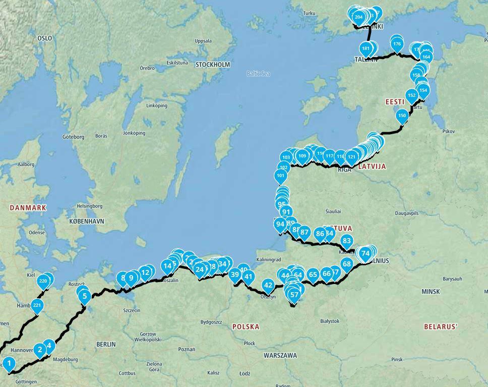 Baltikum Archive Maedchenmotorrad Der Etwas Andere Motorradblog
