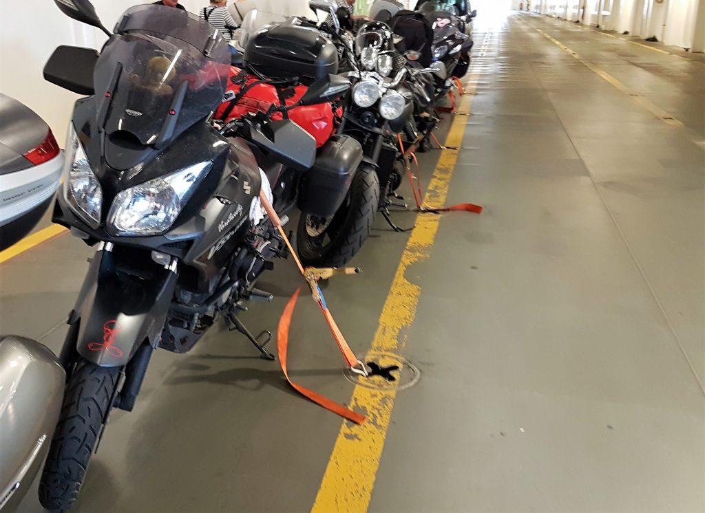 Motorrad Versicherung Fähre