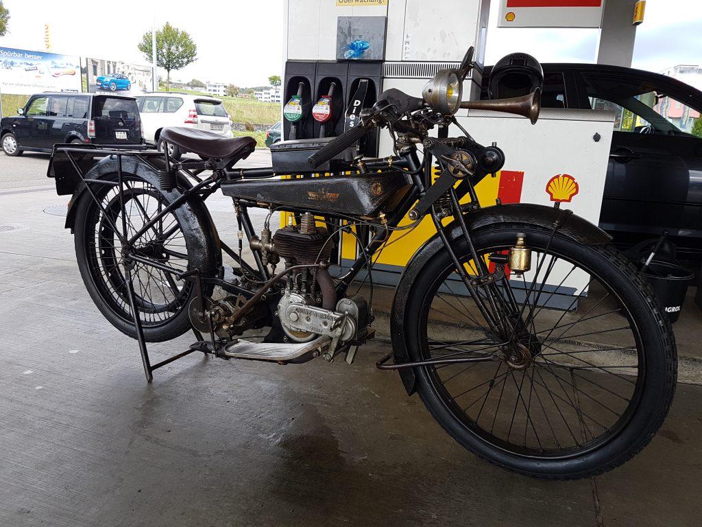 histrorisches Zweirad