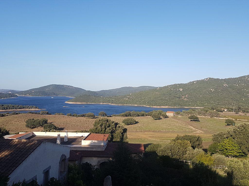 Blick auf den Lago di Liscia