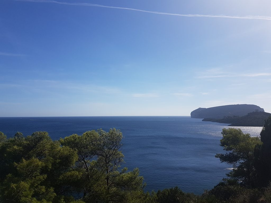 Blick auf das Capo Caccia