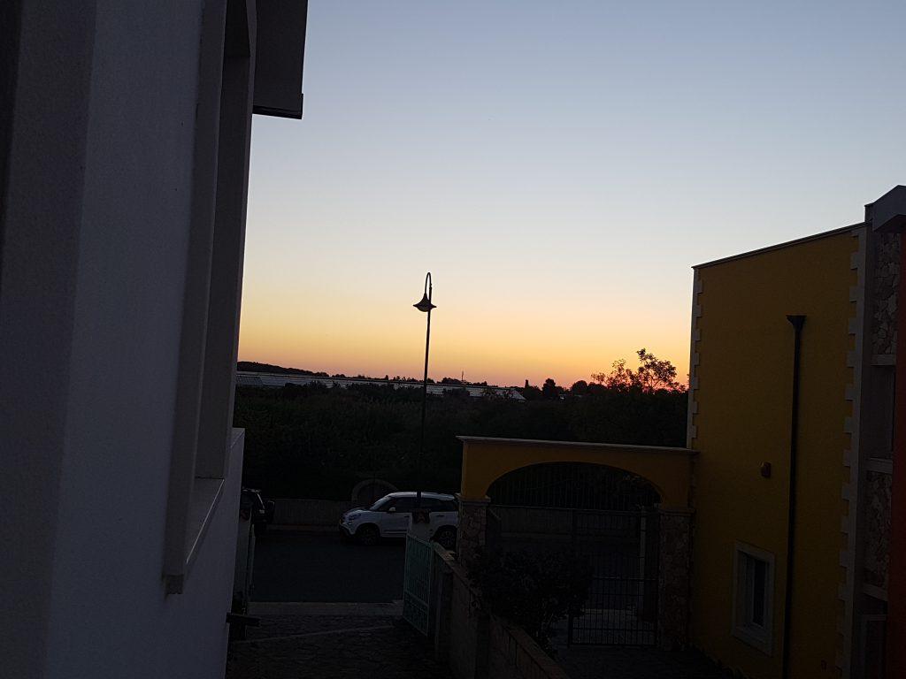 Sonnenaufgang in Pula