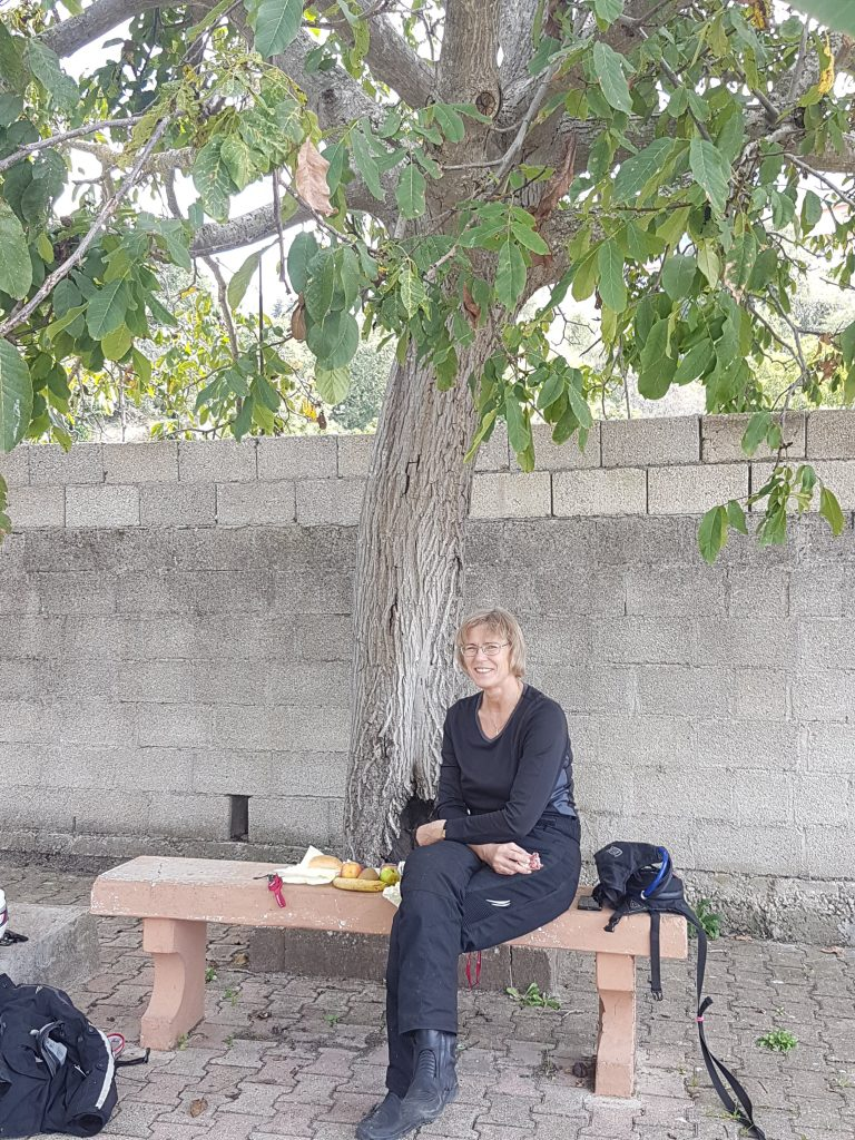 Pause in Olzai