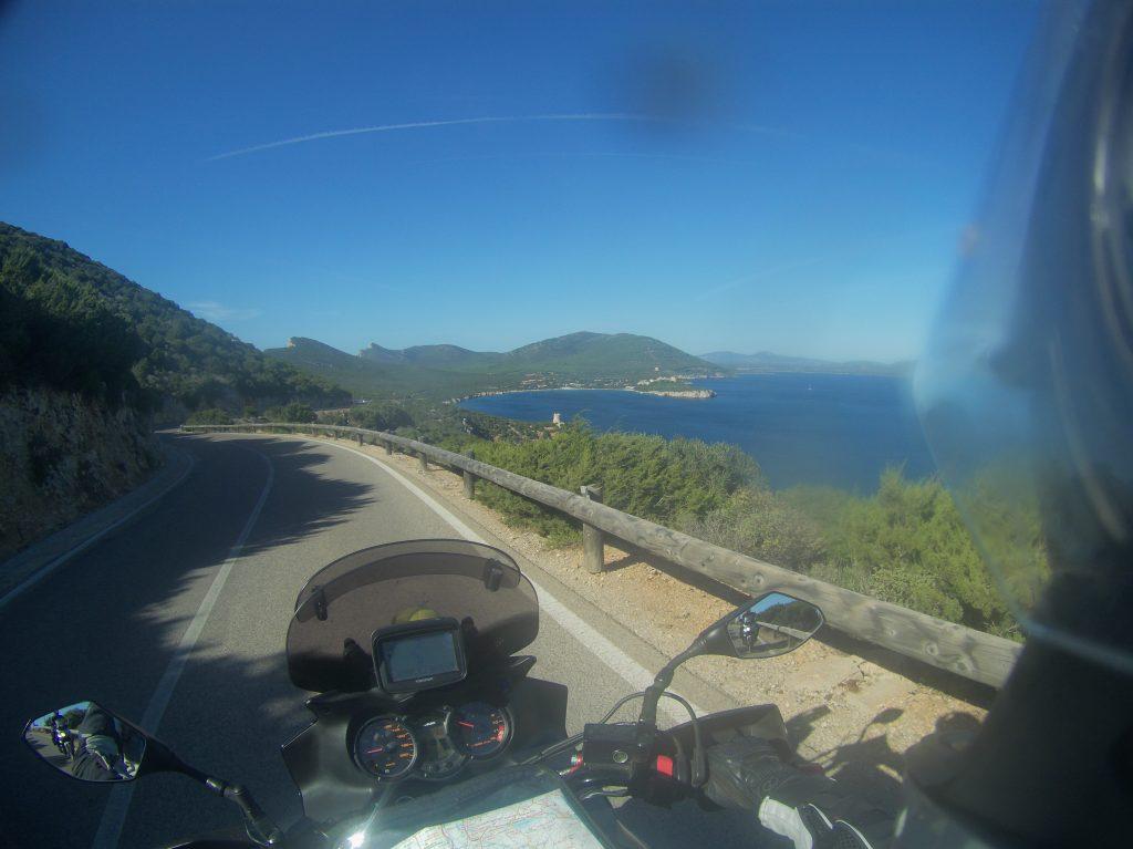 Blick vom Capo Caccia