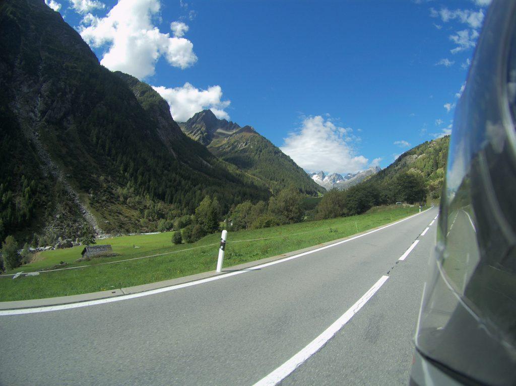 Weg zum Sustenpass