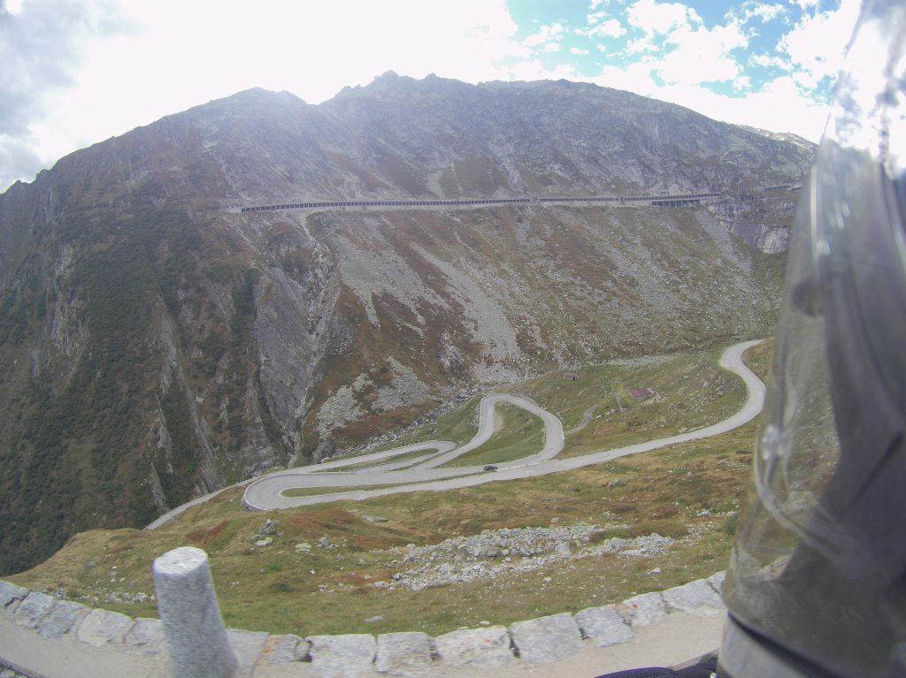 Alter und neuer Gotthard