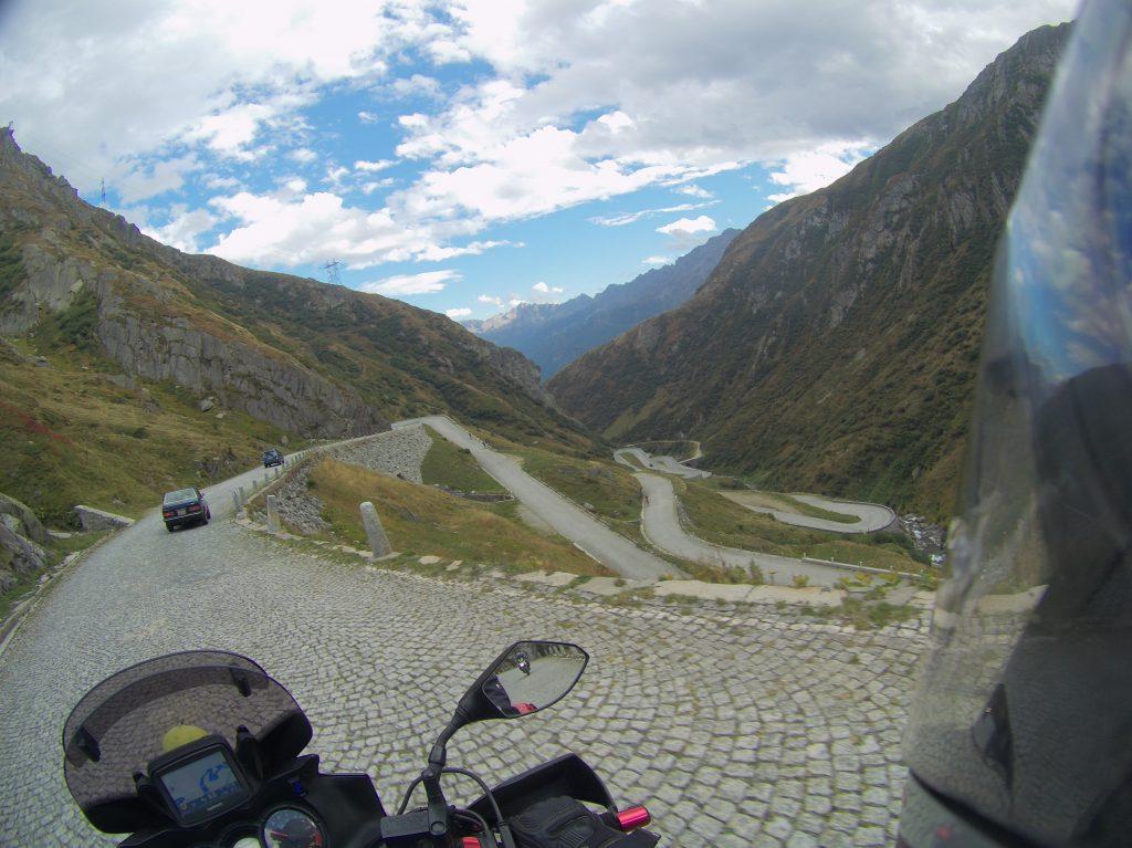 alter Gotthardpass