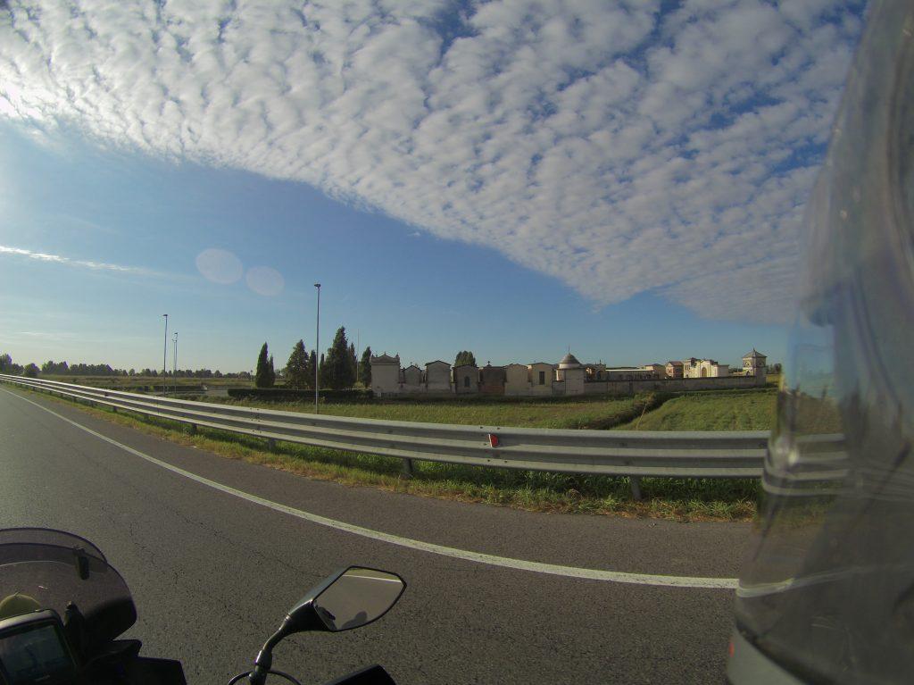 Wolkenspiel am Morgen