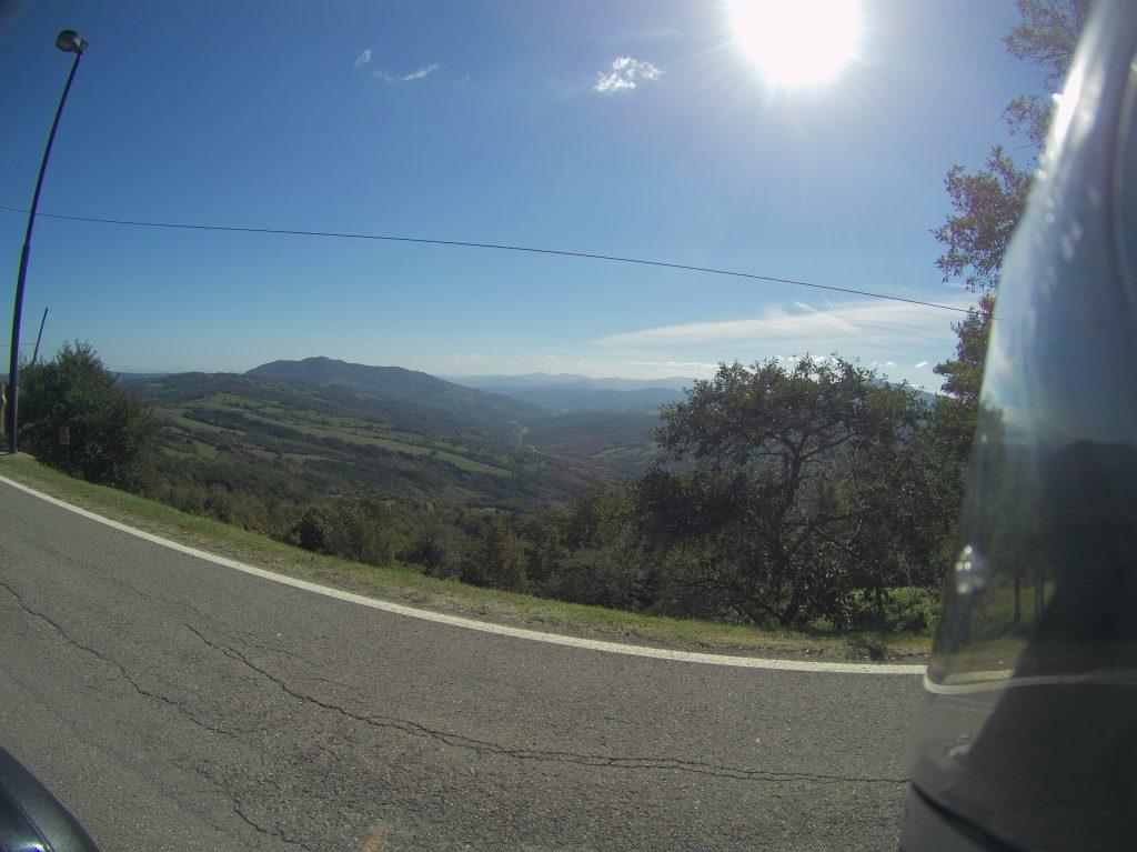 Tolle Ausblicke in den Bergen