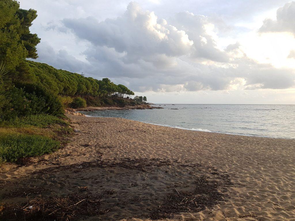 ein letzter Strandblick