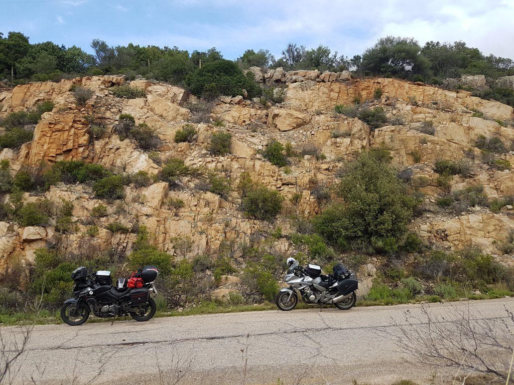 Motorräder im wilden Westen
