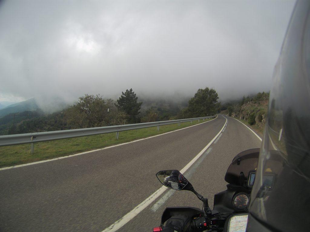 Straßen im Nebel