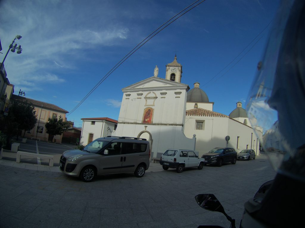 Kirche in Urzulei
