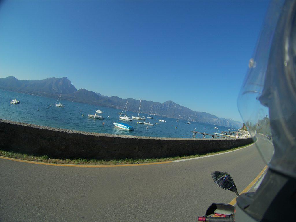 Tolle Ausblicke am Gardasee