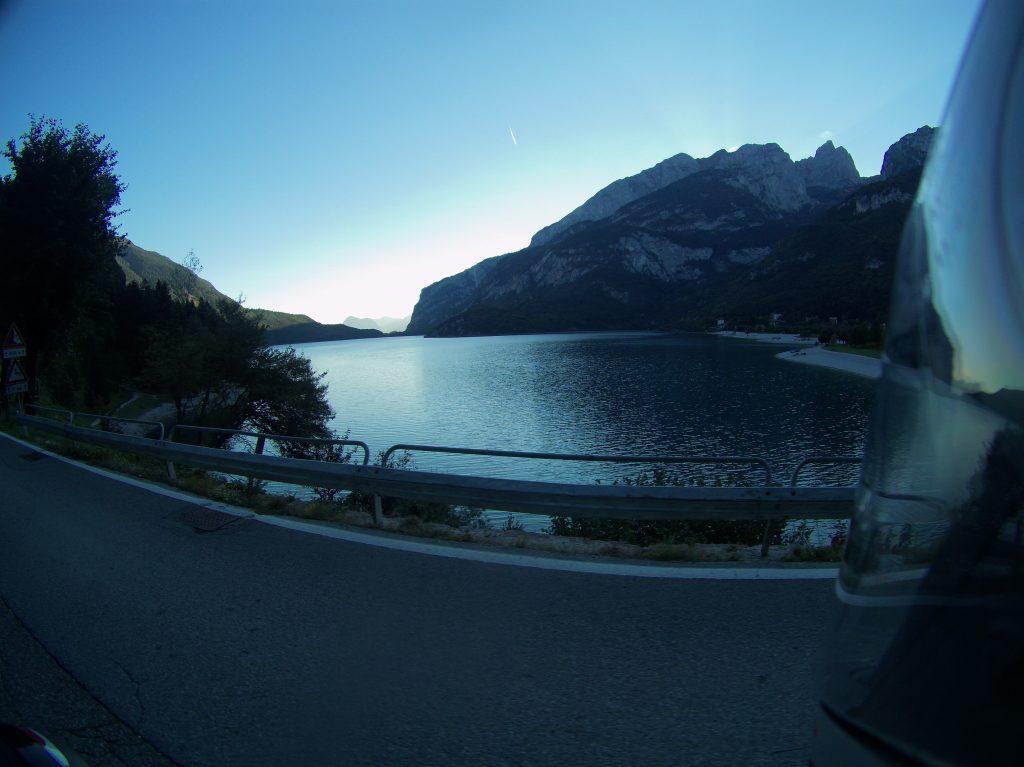 Das letzte Licht am Lago di Molveno