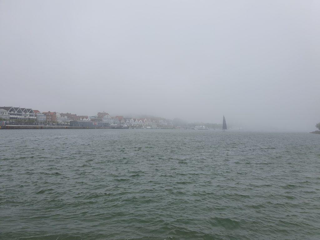 Lübeck im Nebel