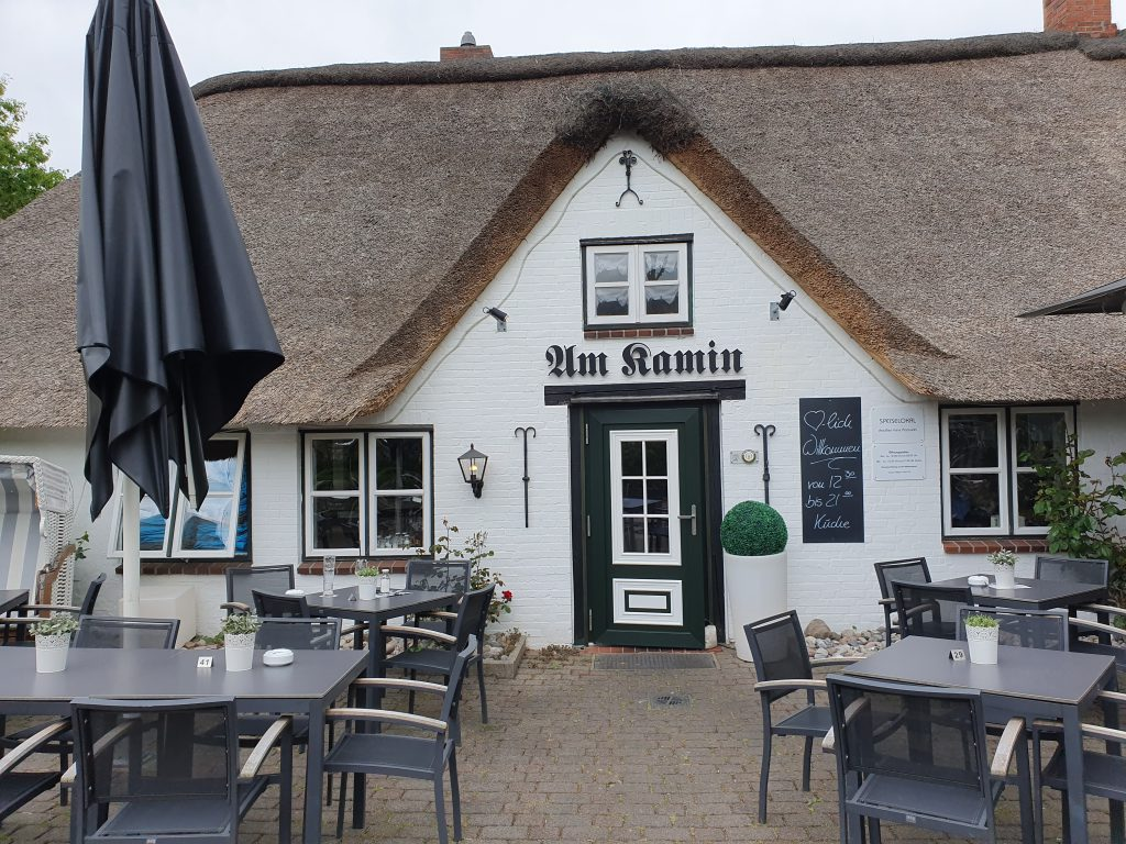"Restaurant ""Am Kamin"" in St. Peter Ording"