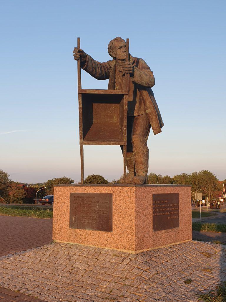 Denkmal für den Deichbau