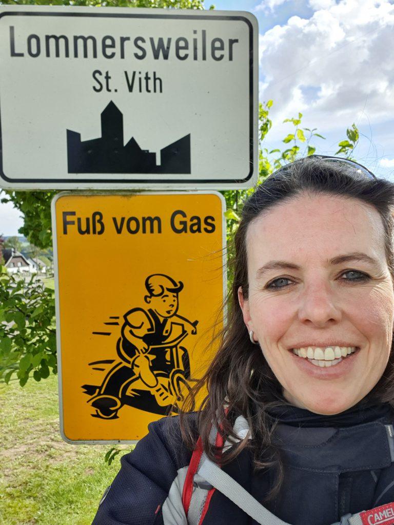 Ich habe nie den Fuß auf dem Gas - das wäre so unbequem!