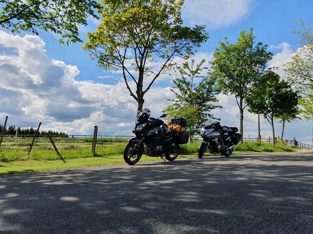 Motorräder im Paradies