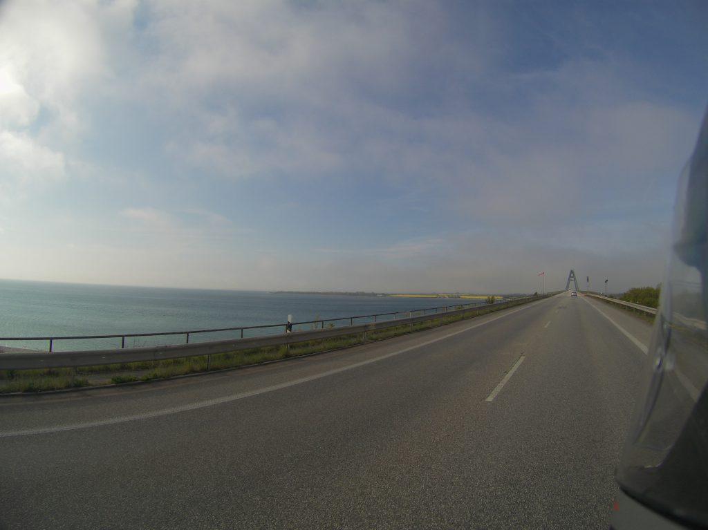 Wind auf der Fehmarnsundbrücke