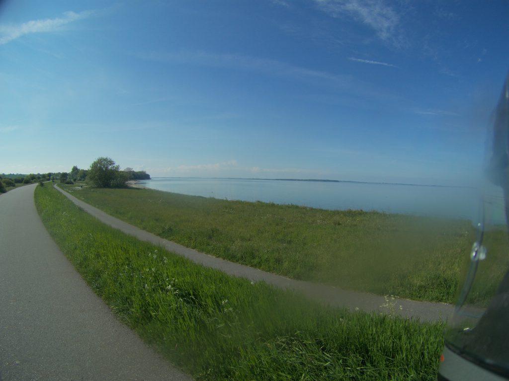 Ein letzter Blick auf die Ostsee