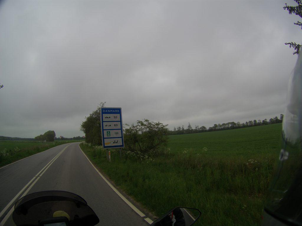 Geschwindigkeitsbegrenzung in Dänemark