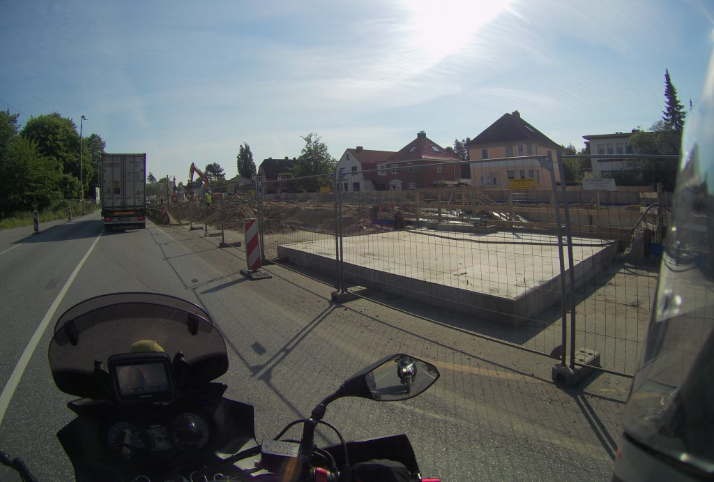 Baustelle in Bremerhaven