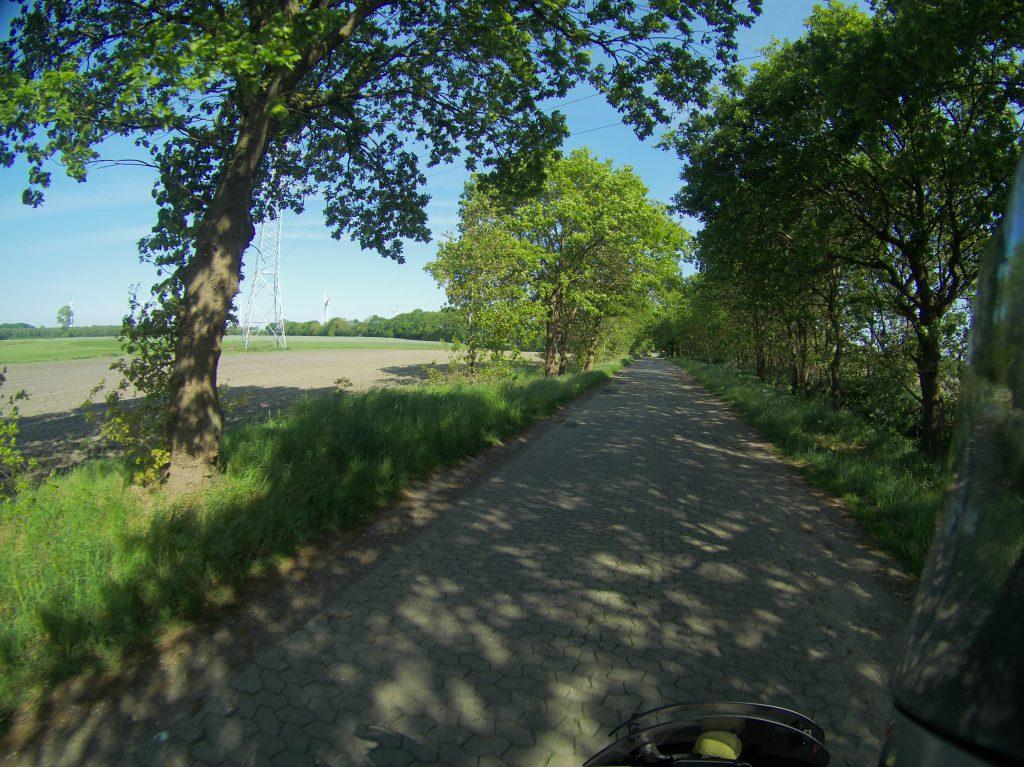 Tolle Straße bei Loxstedt