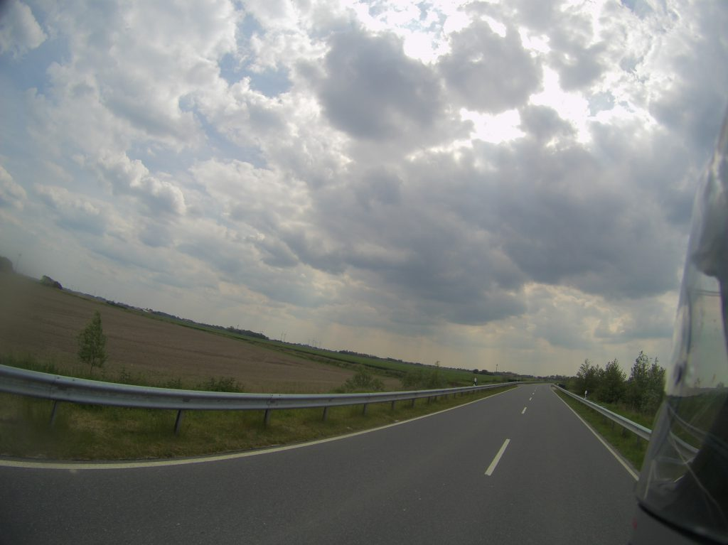 Bedrohliche Wolken am Himmel