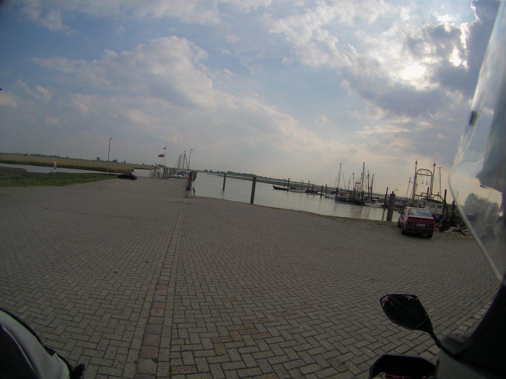 Hafen Petkum ohne Fähre