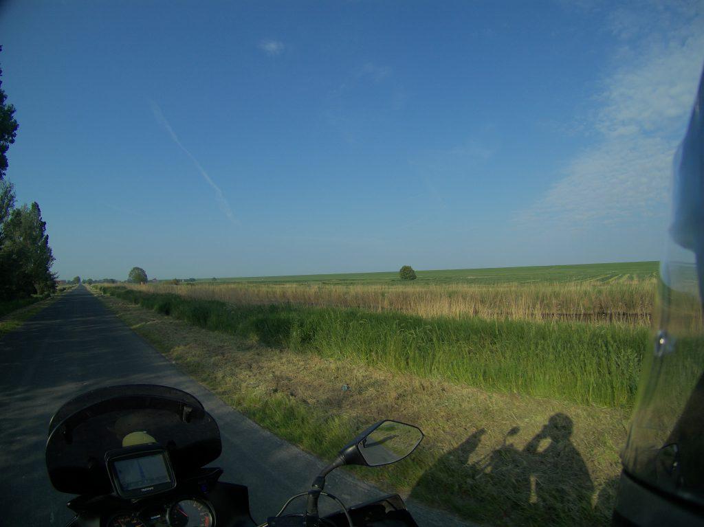 Früh morgens in Ostfriesland