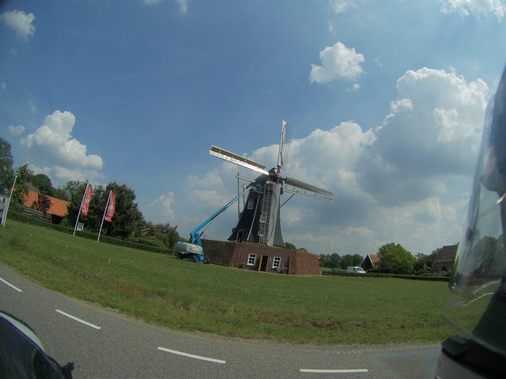 Und noch eine Windmühle