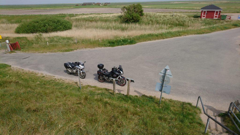 Motorräder von oben