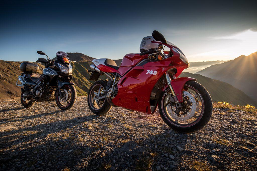 Ducati und Suzuki