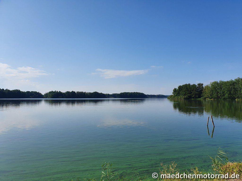kurze Pause am See