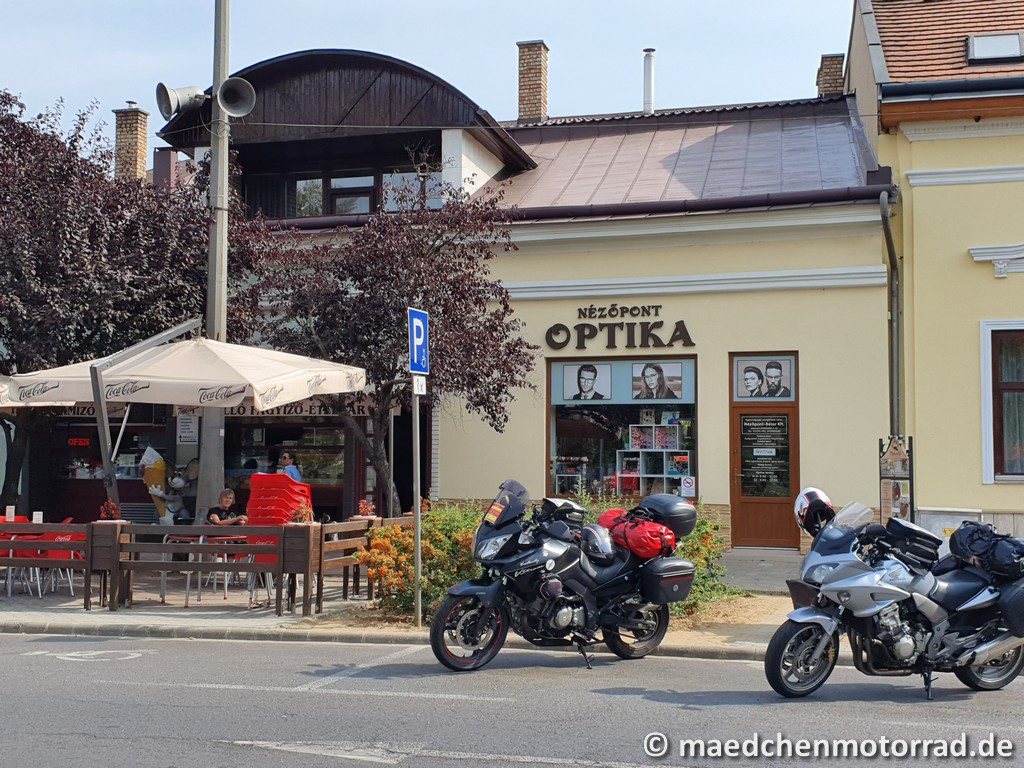 letzter Kaffee in Ungarn
