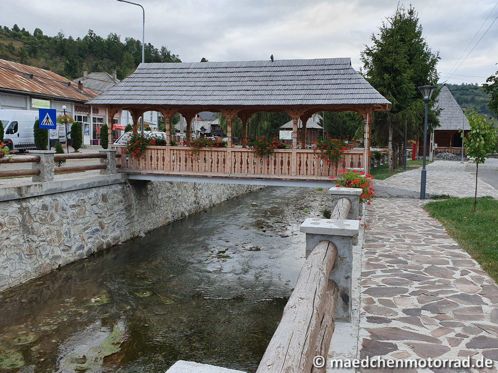Brücke in Botiza
