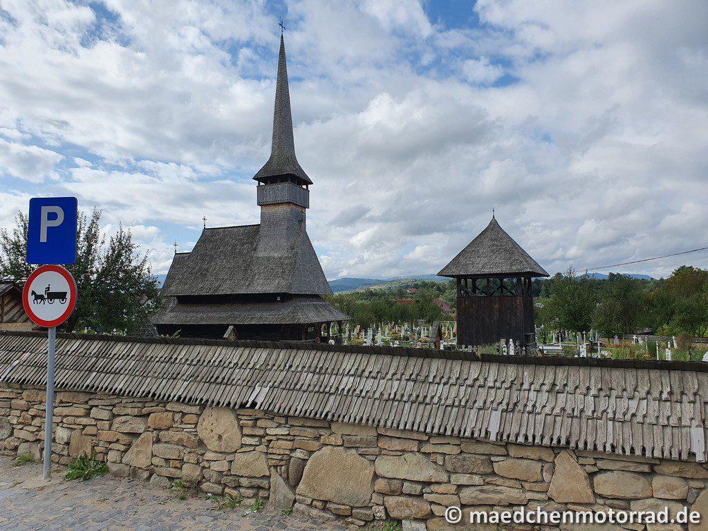 Holzkirche in Rozavlea