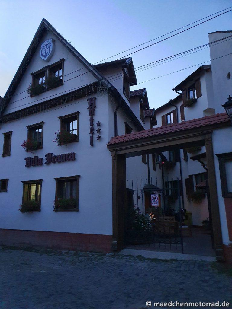 Unser Hotel - Villa Franca