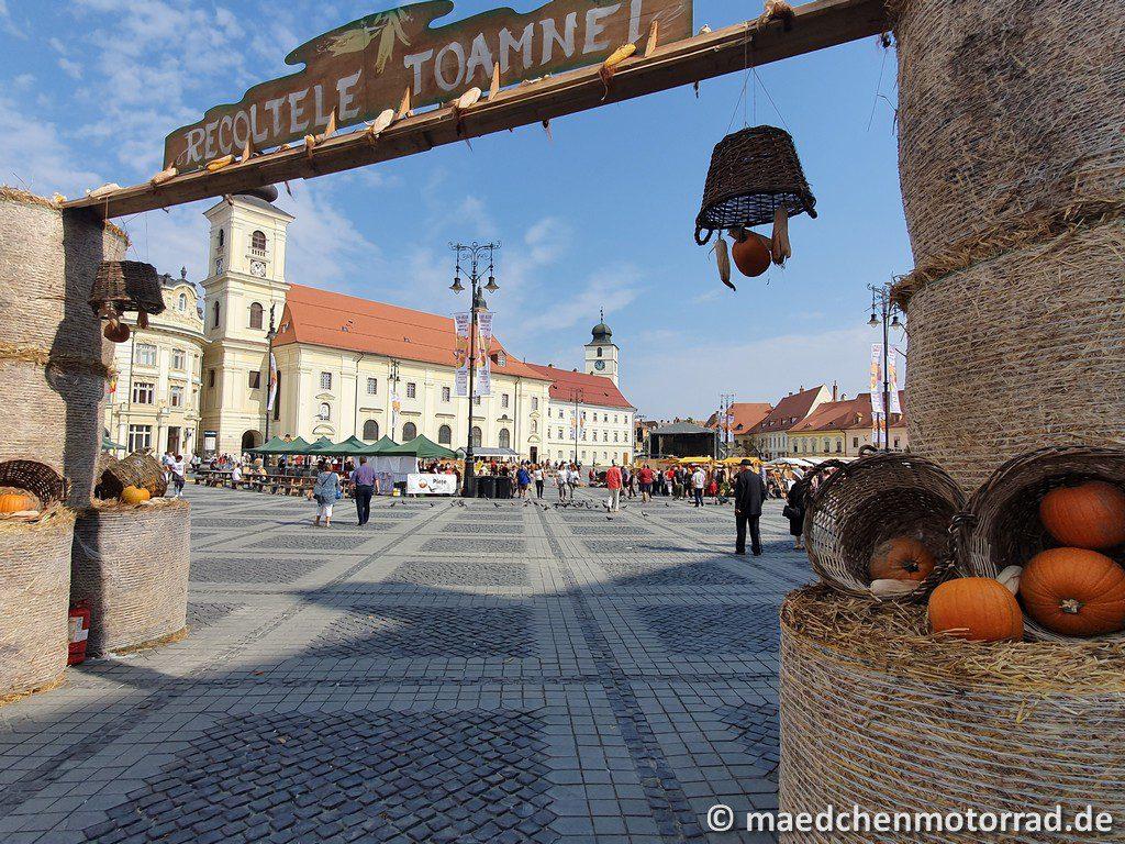 Marktplatz von Sibiu