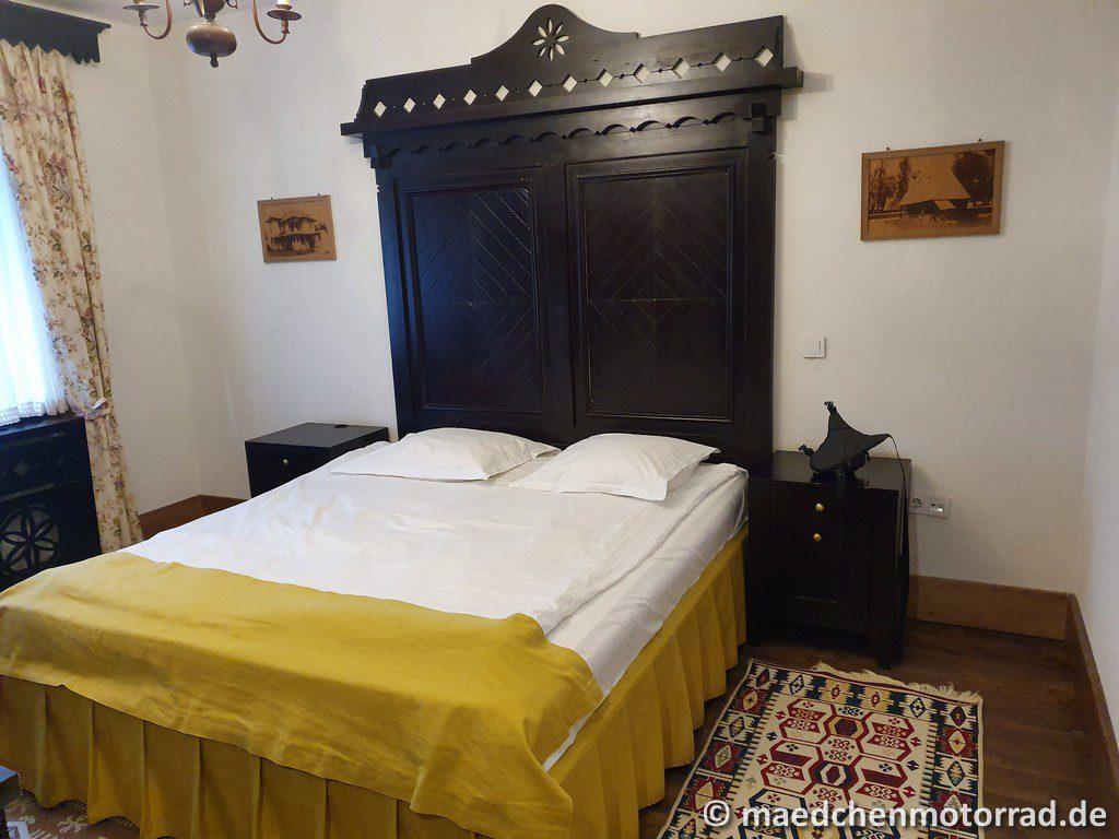 Burgfräulein-Bett! Wir sind zufrieden!