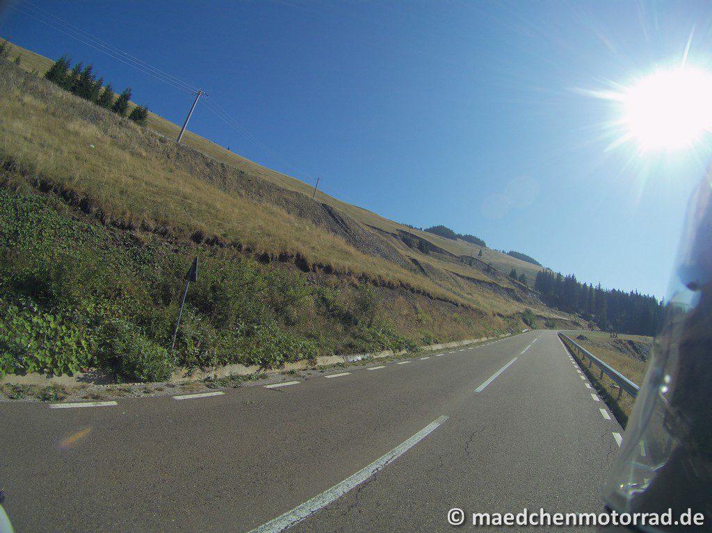 Weiter Richtung Passhöhe Transraraul