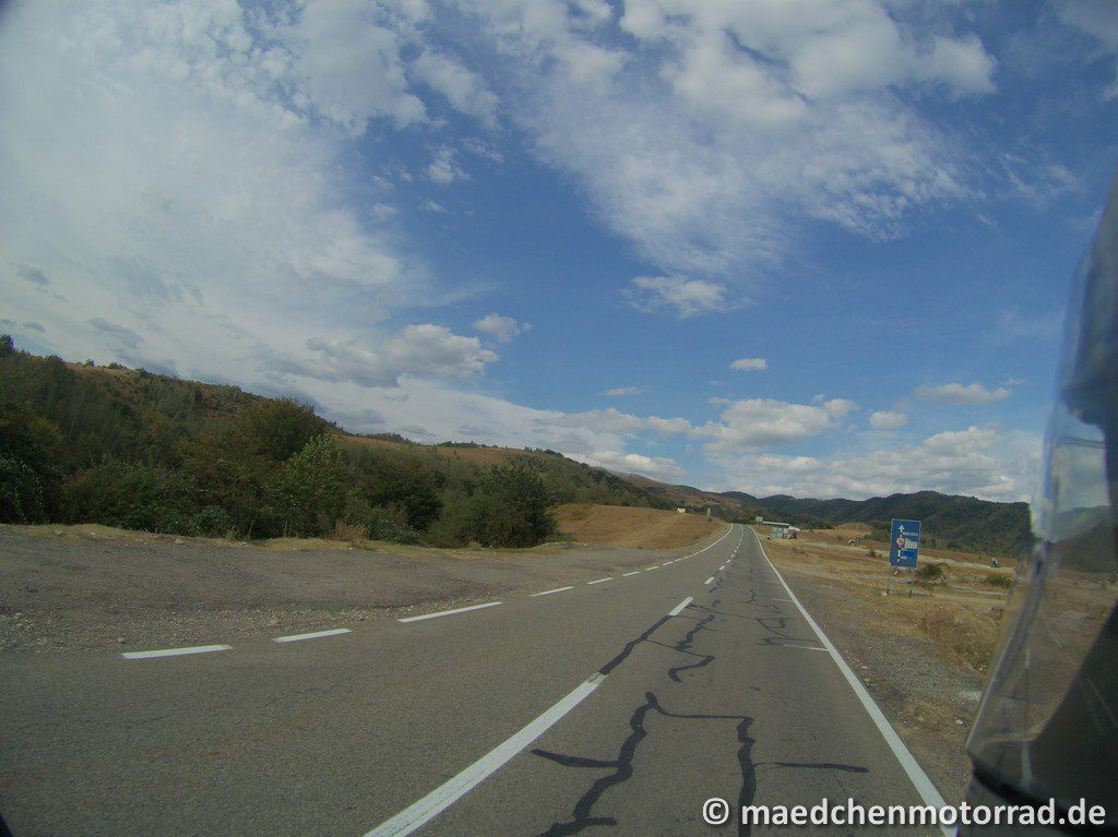 Anfahrt zur Transalpina