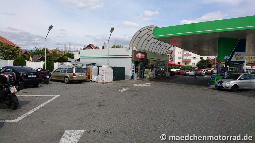 Selten so über eine Tankstelle gefreut