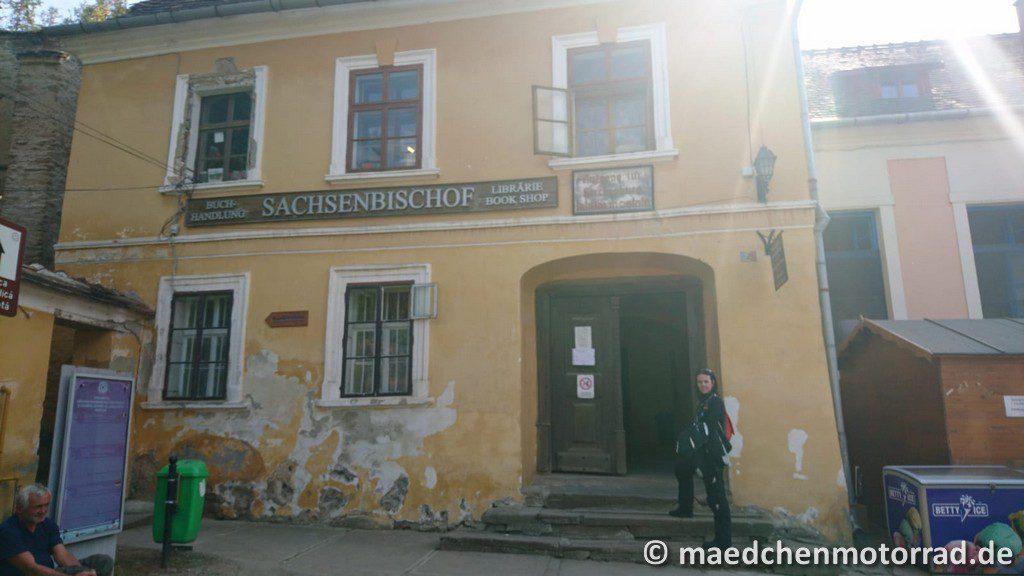 Eingang zur Kirchenburg