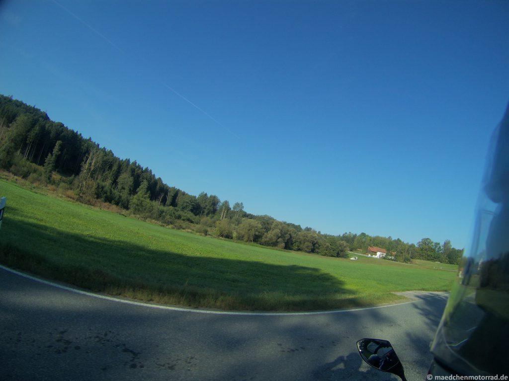 Tolle Morgenluft - ideales Motorradwetter