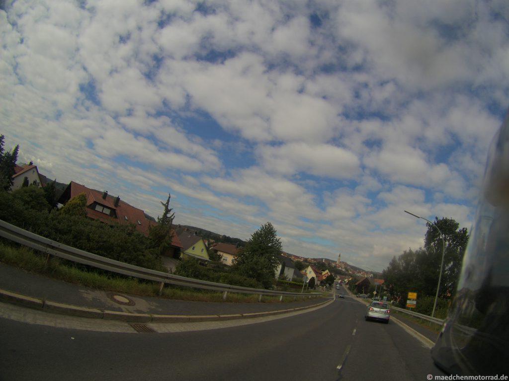 Noch weit vorher: Nabburg