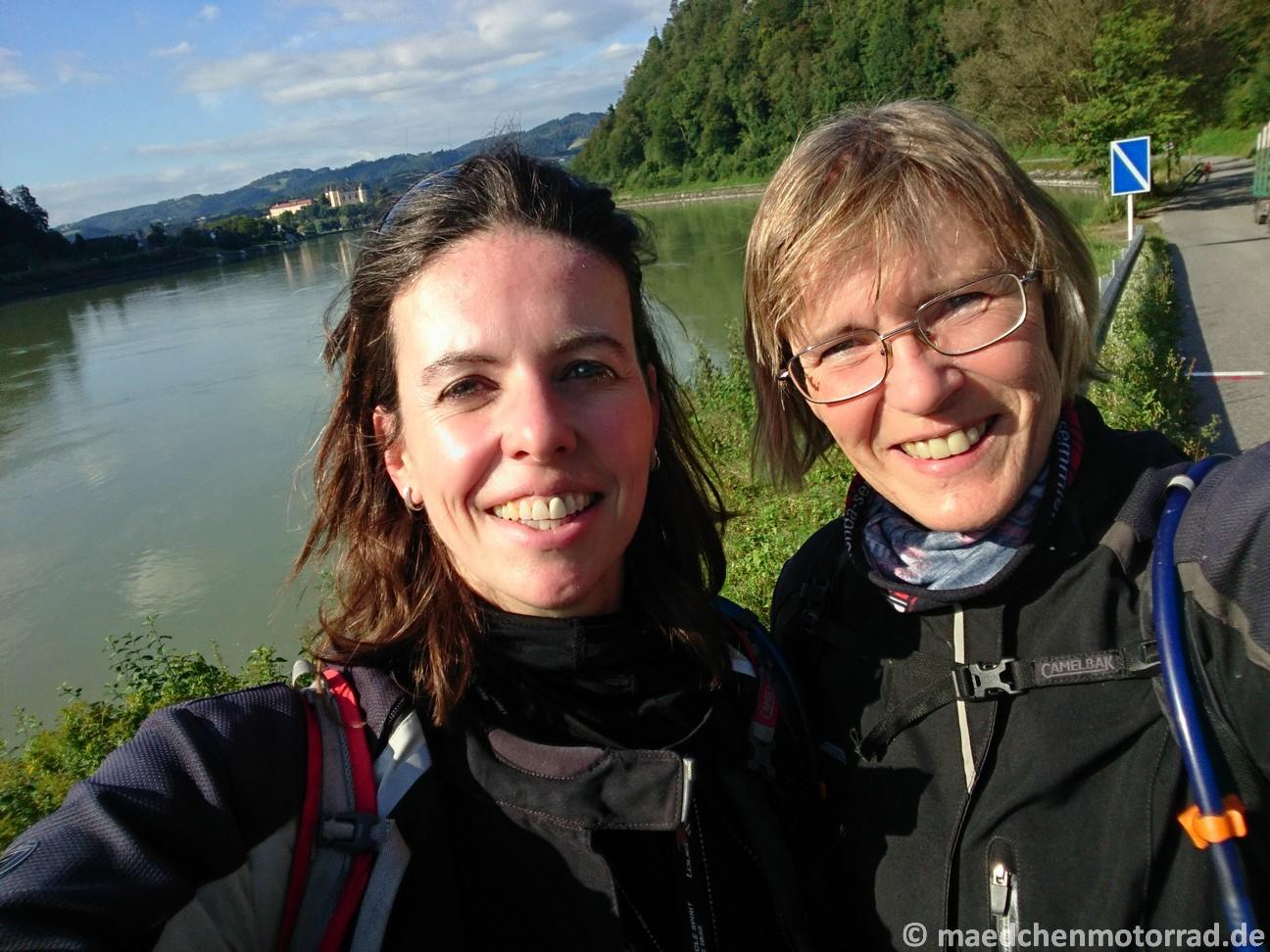 Ein längst überfälliges Selfie an der Donau