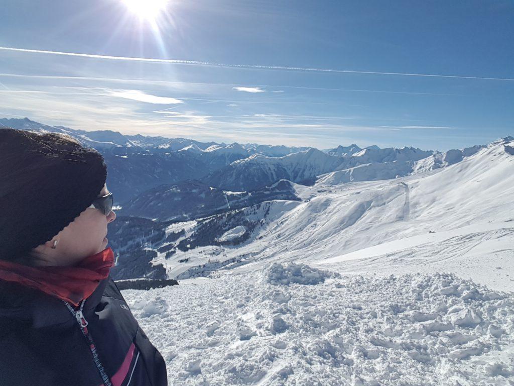 Berge, Sonne, tolle Luft - in meiner zweiten Heimat Fiss!!
